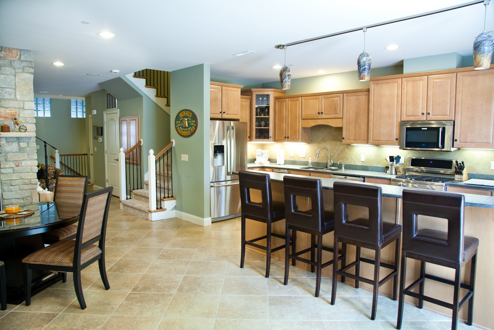 Kitchen in Ardeen town home