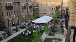 Ivy Quad – Blue & Gold Tailgate Party