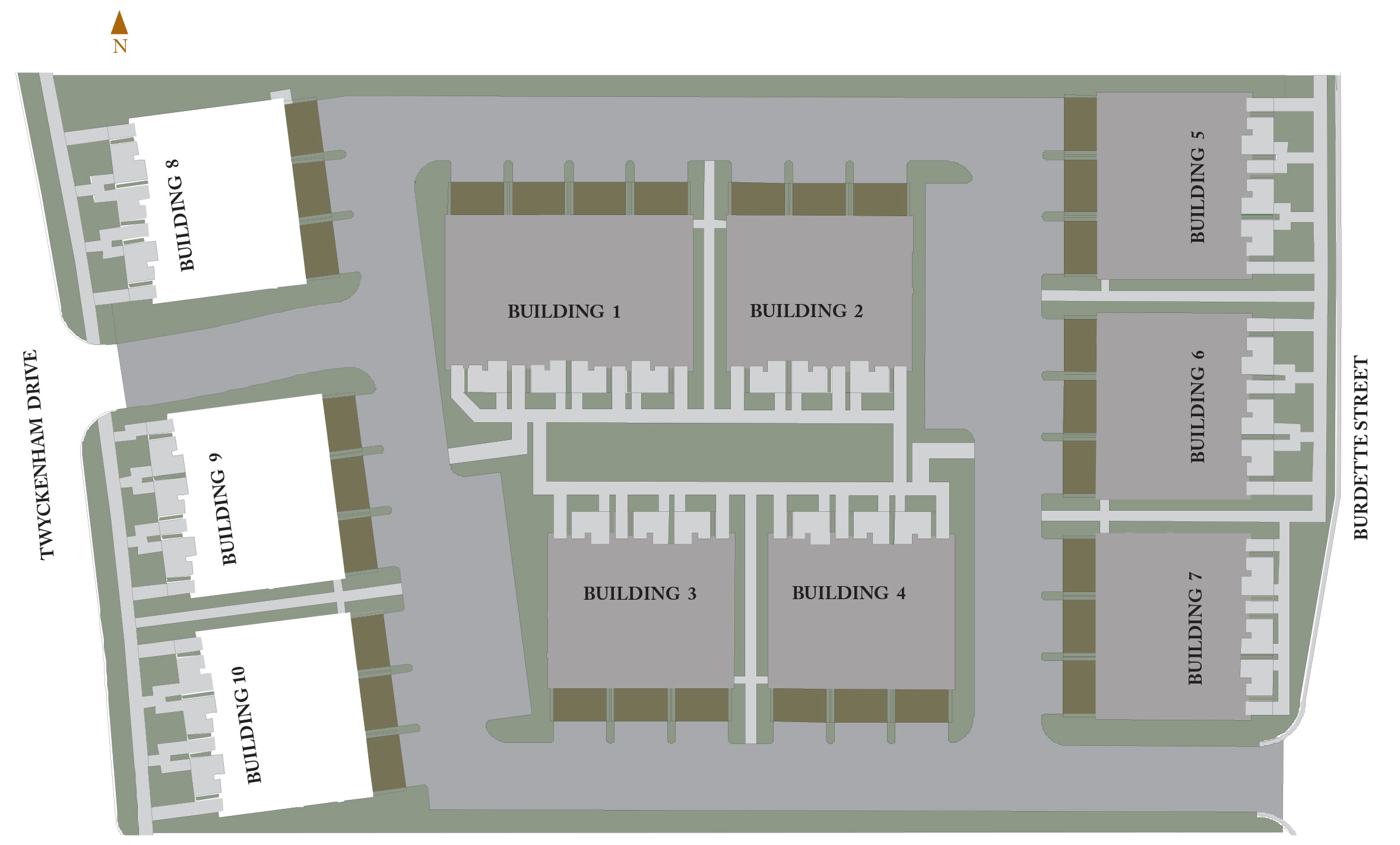 Ivy Quad Site Map
