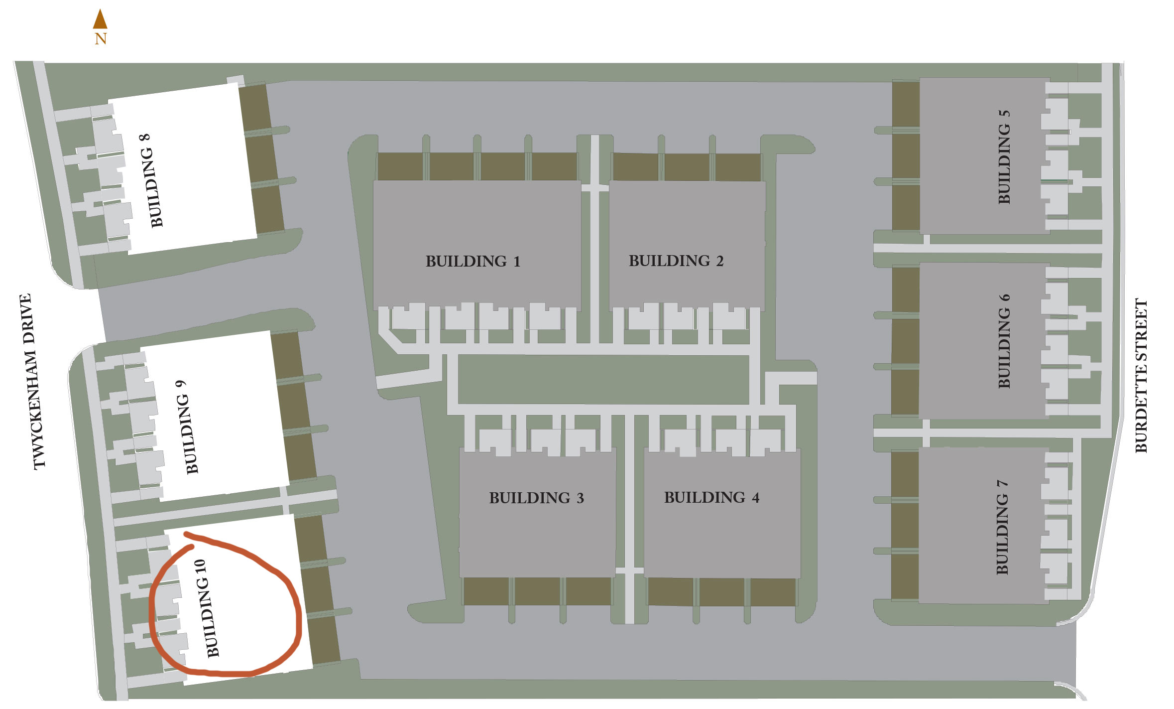 Ivy Quad Phase 3 Site Plan